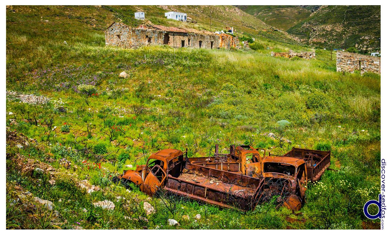 Κουταλάς - Παλιές εγκαταστάσεις και οχήματα
