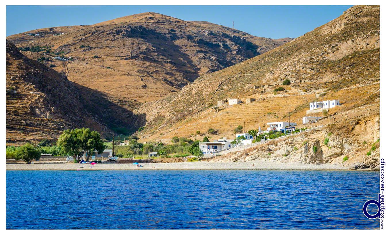 Κουταλάς - Παραλία Σερίφου