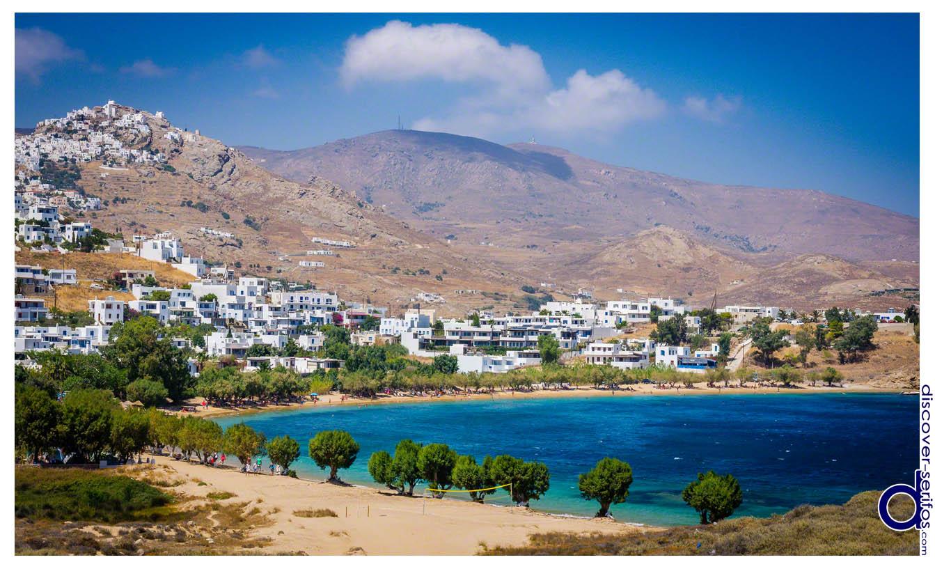 Λιβαδάκια Παραλία στη Σέριφο