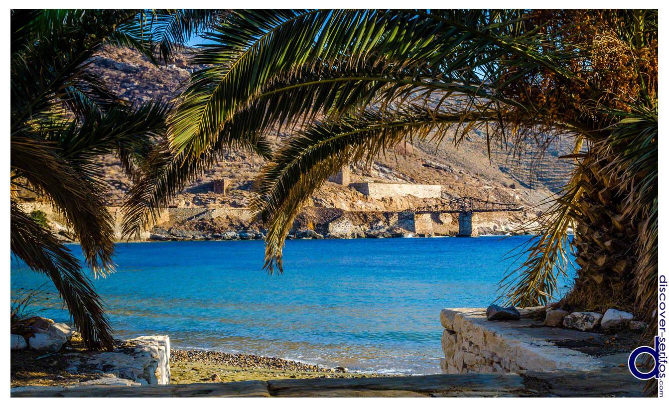 Μέγα Λιβάδι - Παραλία και Σκάλα Φόρτωσης