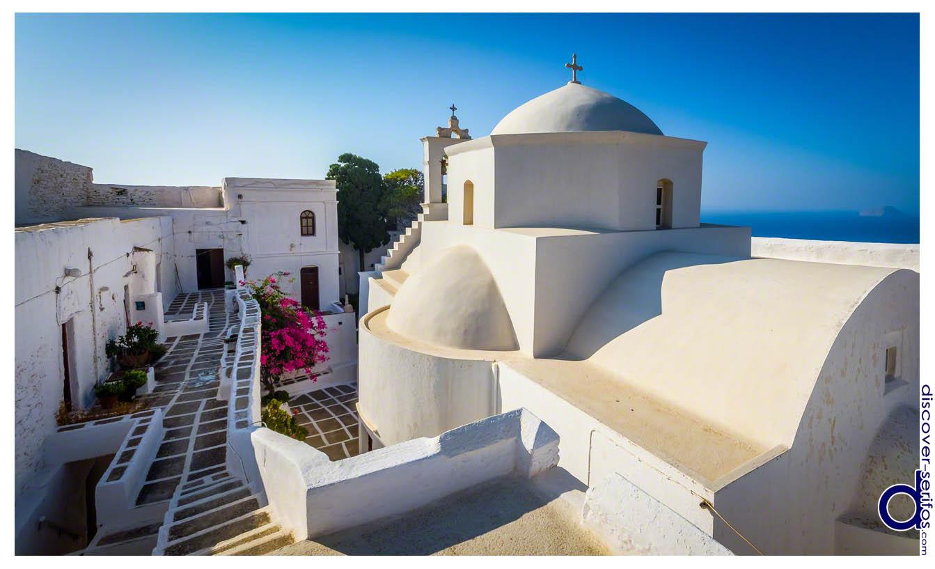 Μοναστήρι των Ταξιαρχών - Σέριφος - Κυκλάδες