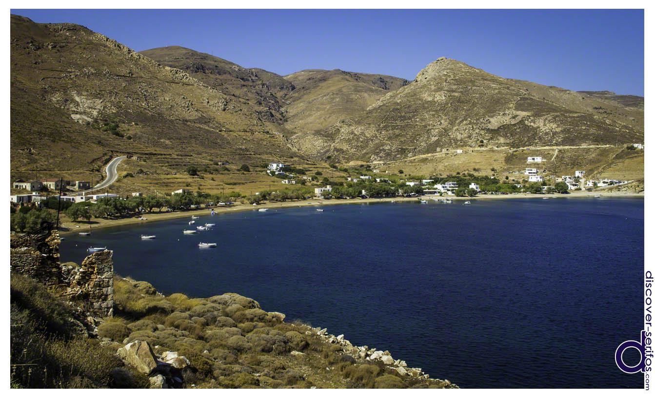 Οικισμός και Παραλία Κουταλά - Σέριφος