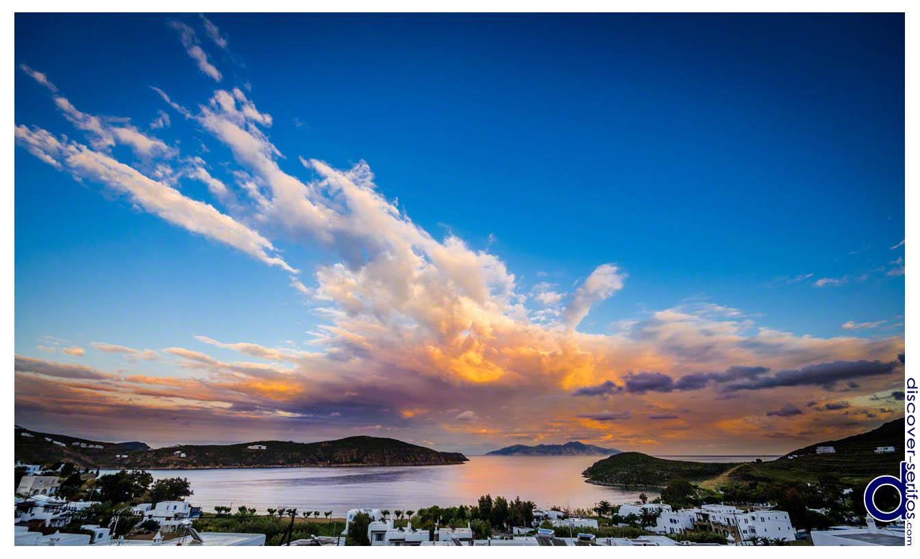 Όρμος Λιβαδιού - Λιβαδάκια - Ηλιοβασίλεμα