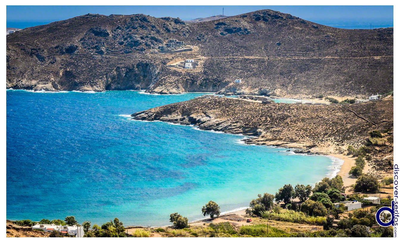 Παραλία Άη Γιάννη στη Σέριφο