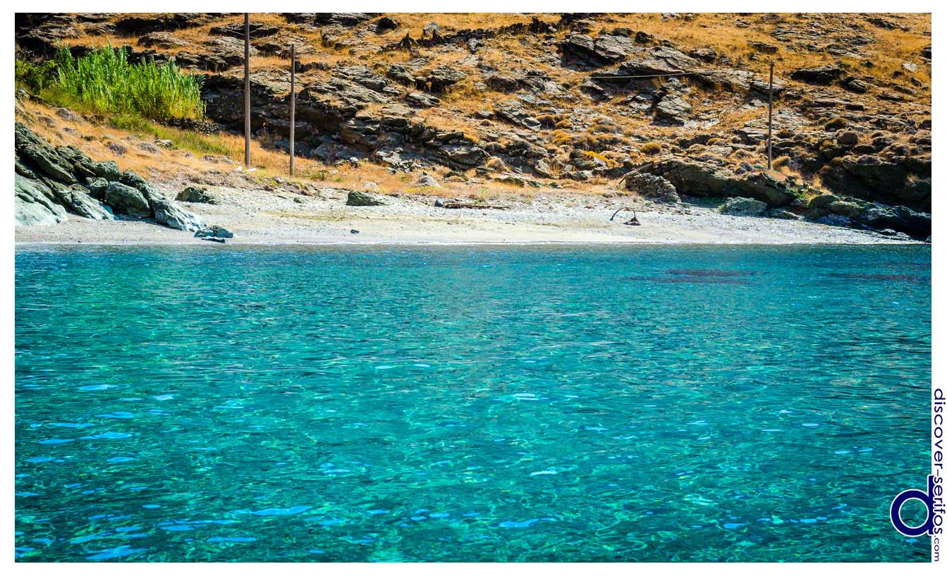 Παραλία Αβεσσαλού - Σέριφος