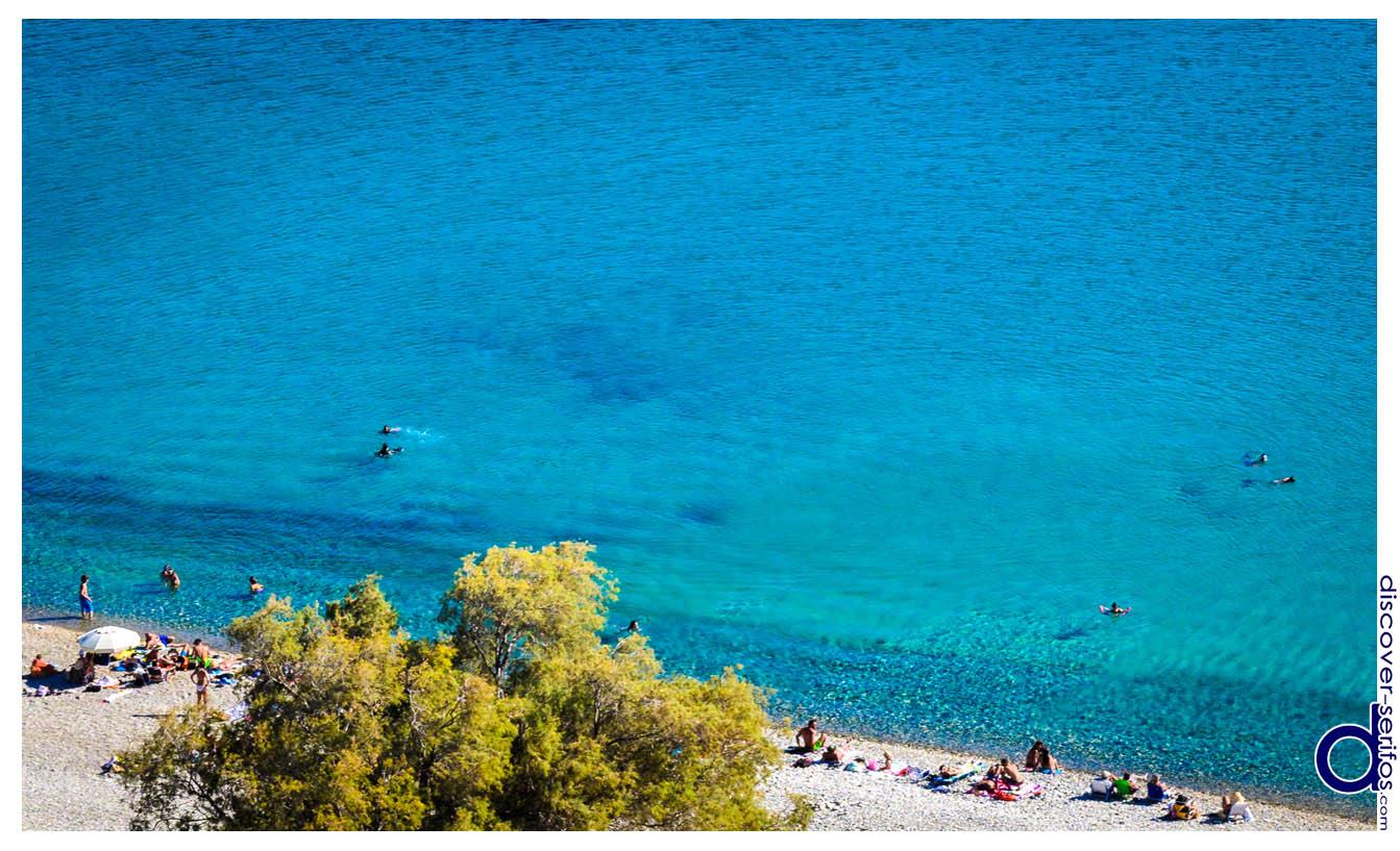 Παραλία Γάνεμα - Σέριφος