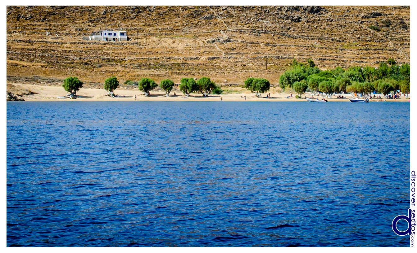 Παραλία Λιβαδάκια Σερίφου
