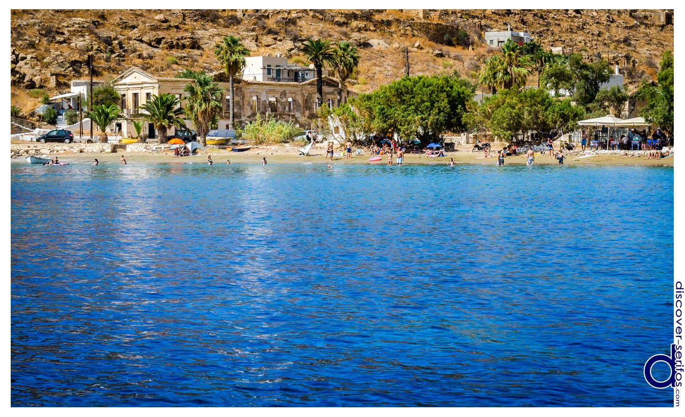 Παραλία Μέγα Λιβάδι - Σέριφος