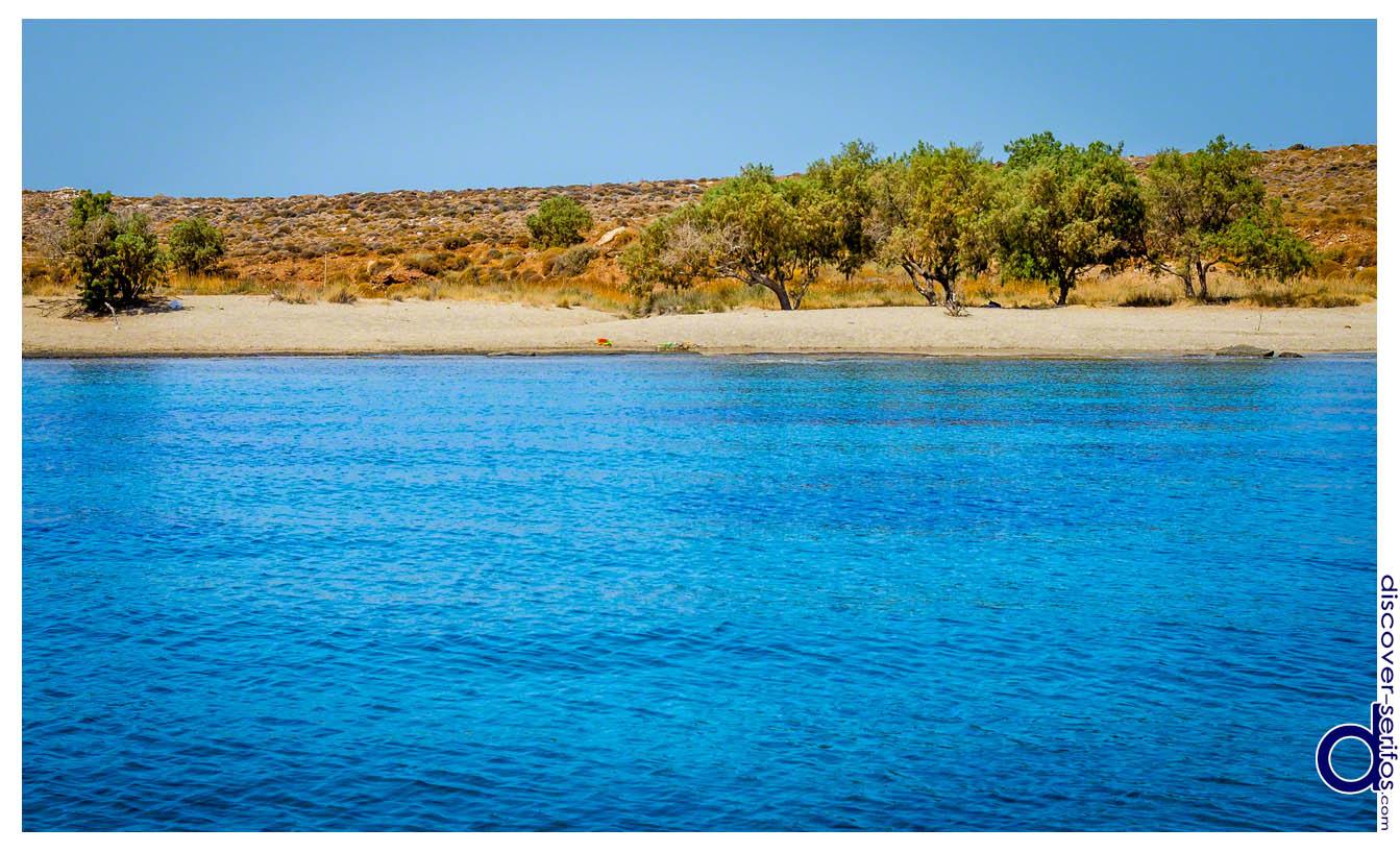 Παραλία Πλατύς Γιαλός - Σέριφος