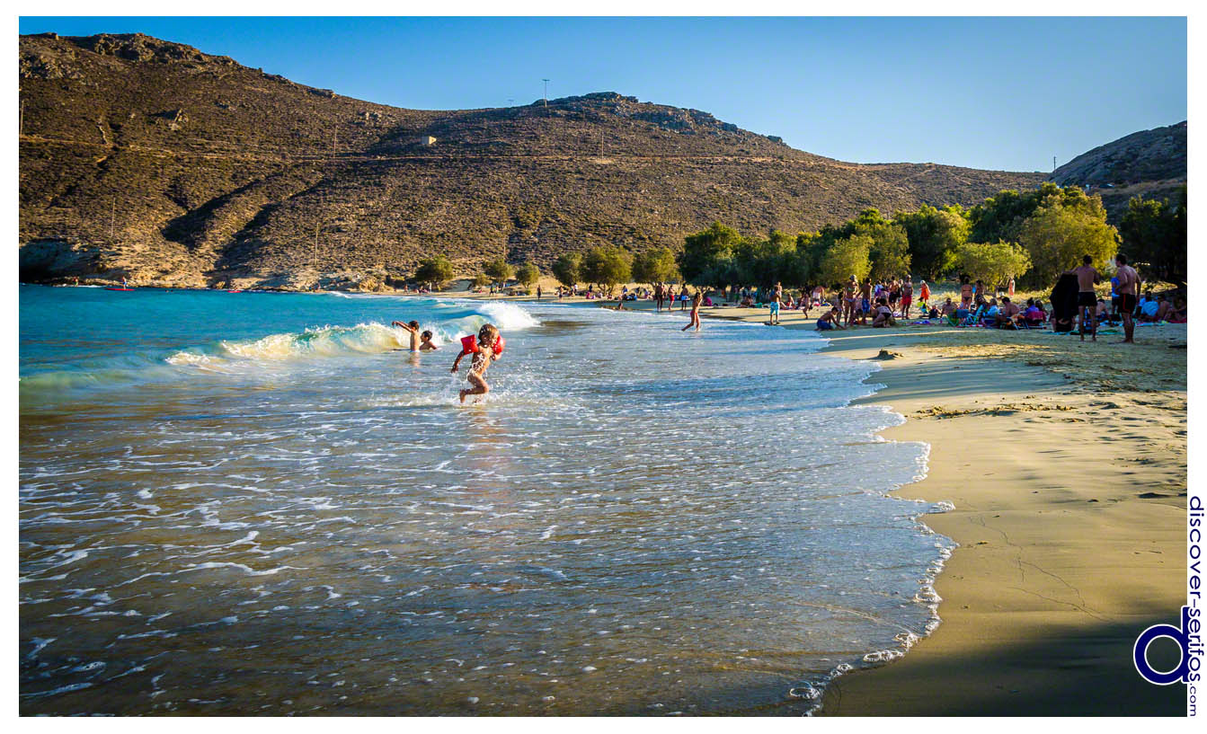 Παραλία Ψιλής Άμμου - Σέριφος