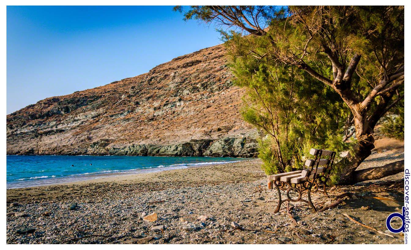 Παραλία Συκαμιάς στη Σέριφο