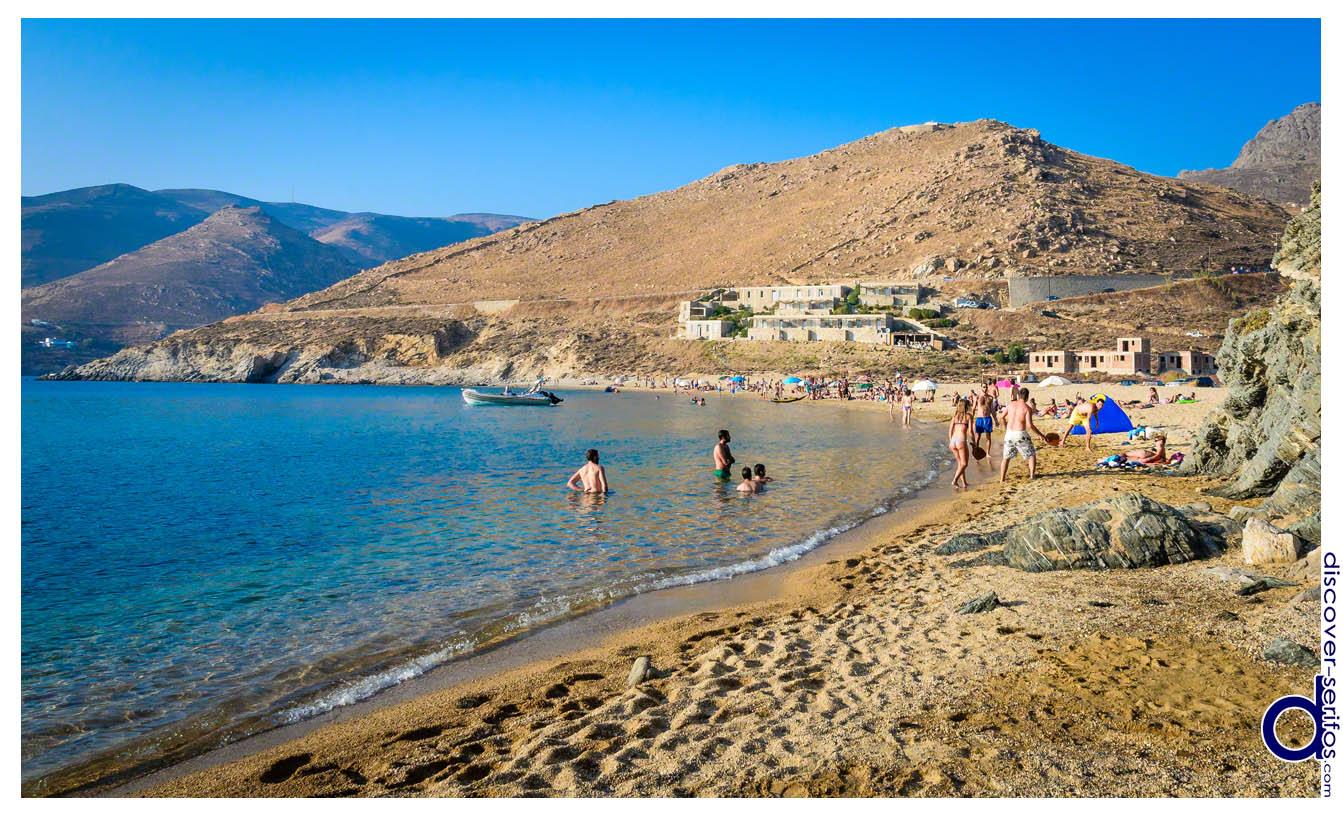 Παραλία Βαγιάς - Σέριφος