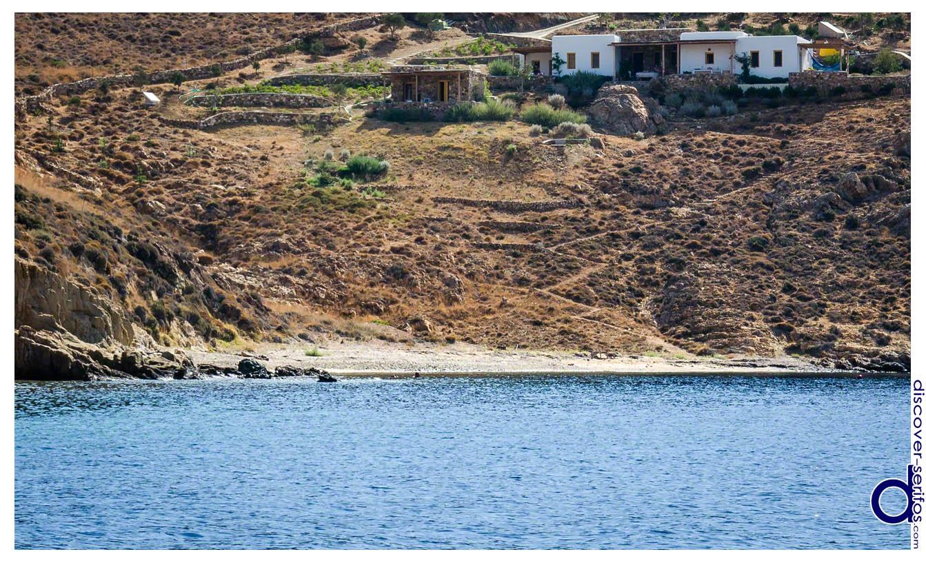 Παραλία Βρουλιά - Σέριφος