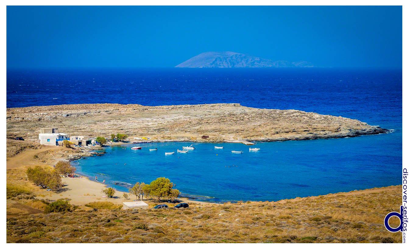 Πλατύς Γιαλός - Οικισμός και Παραλία στη Σέριφο