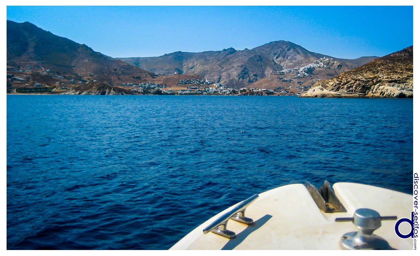 Πρόσβαση με Σκάφος στη Σέριφο