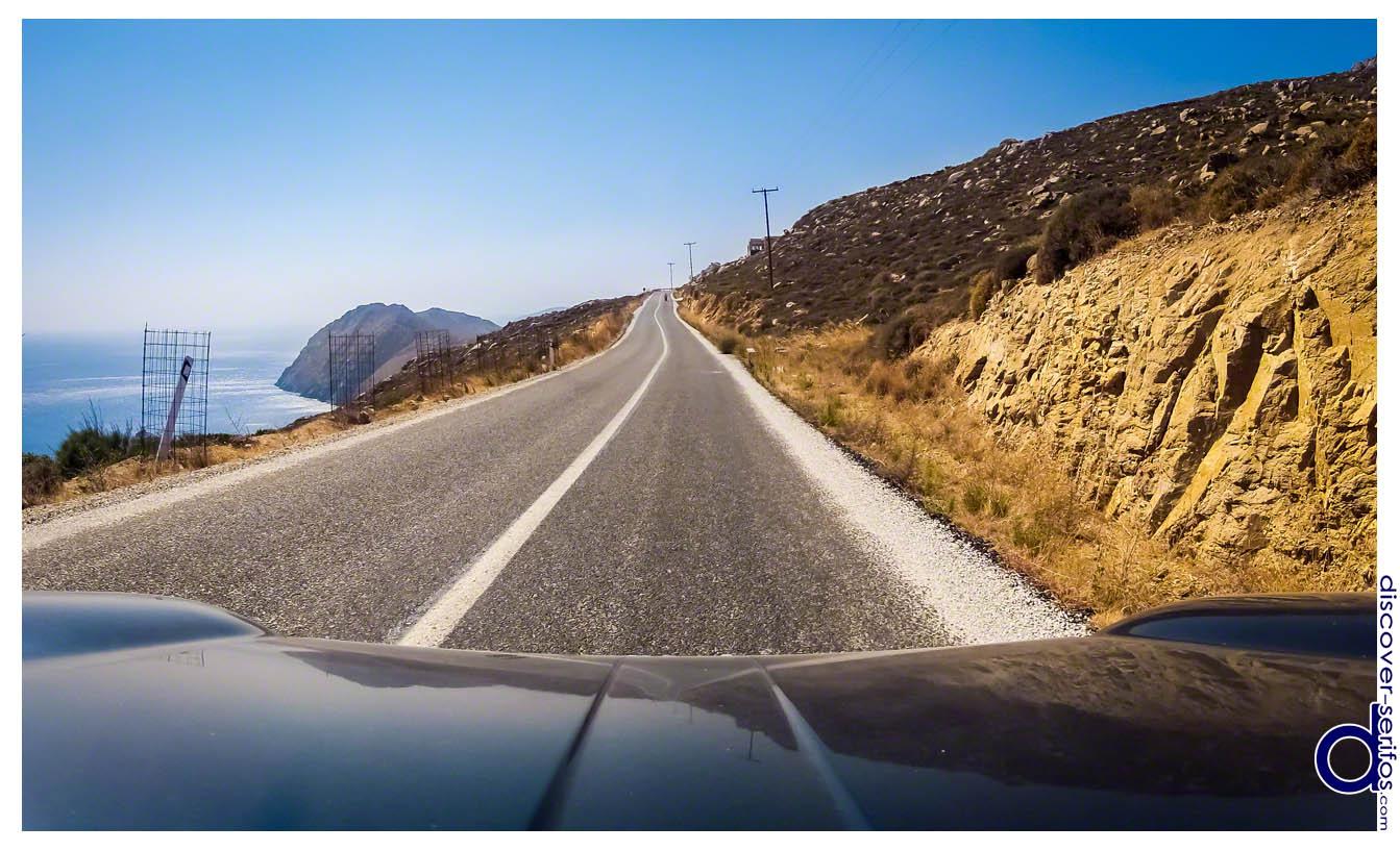 Σέριφος - Οδηγικές διαδρομές