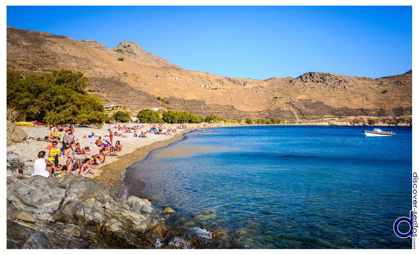 Σέριφος - Παραλία Γάνεμα