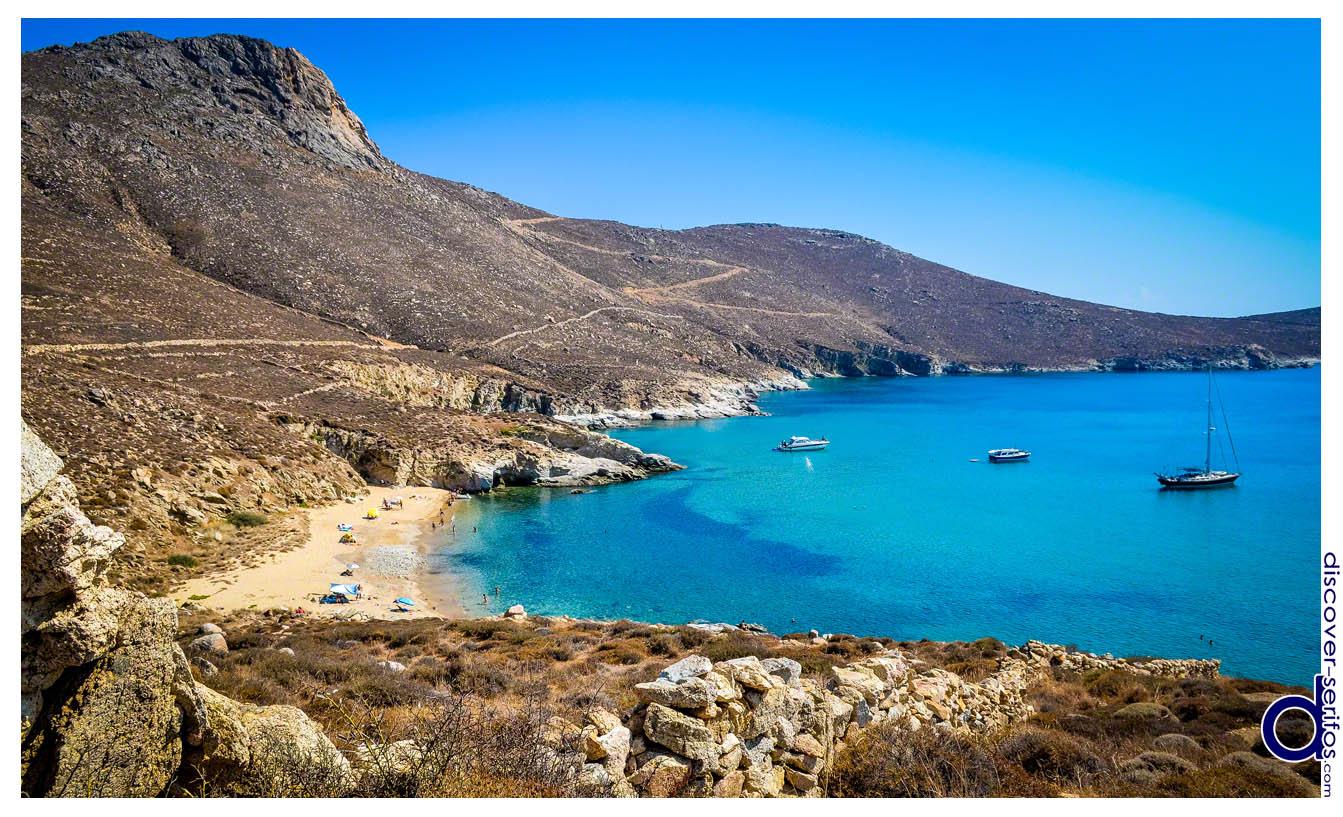 Σέριφος - Παραλία Καλό Αμπέλι