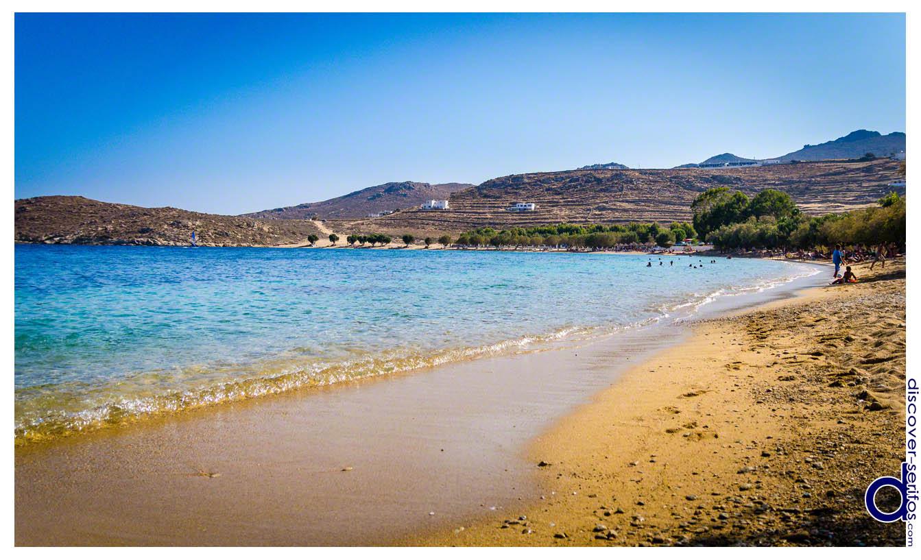 Σέριφος - Παραλία Λιβαδάκια