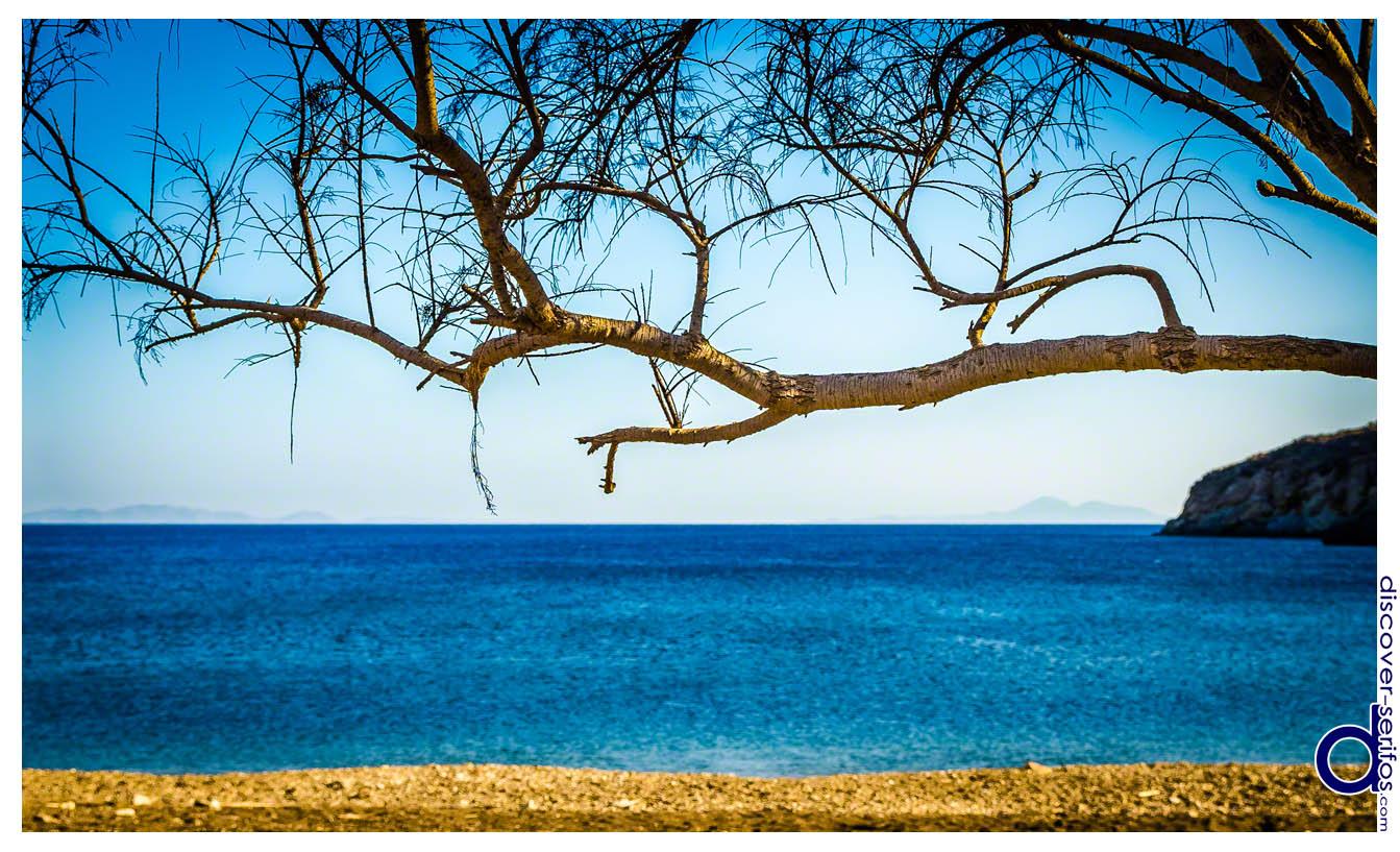 Σέριφος - Παραλία Μαλλιάδικου