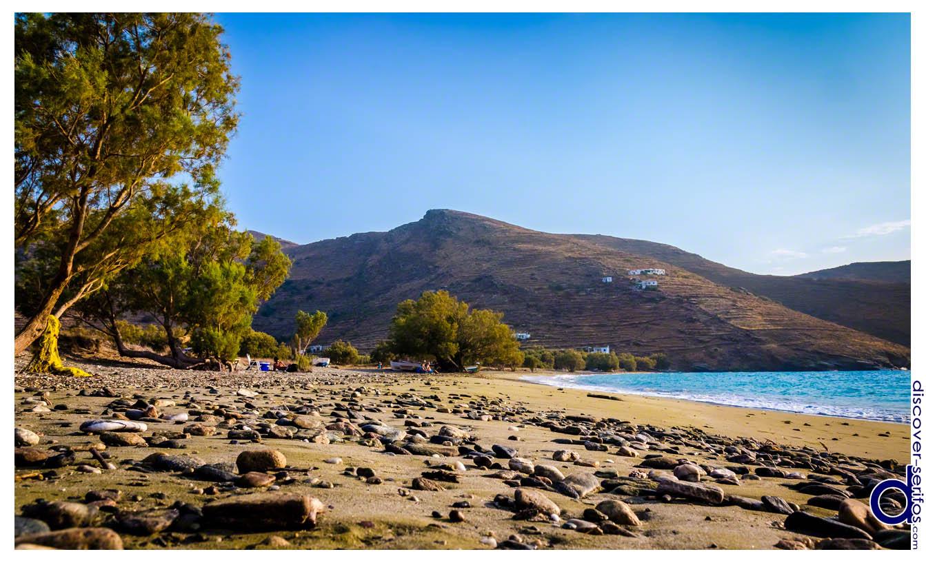 Σέριφος - Παραλία Συκαμιάς