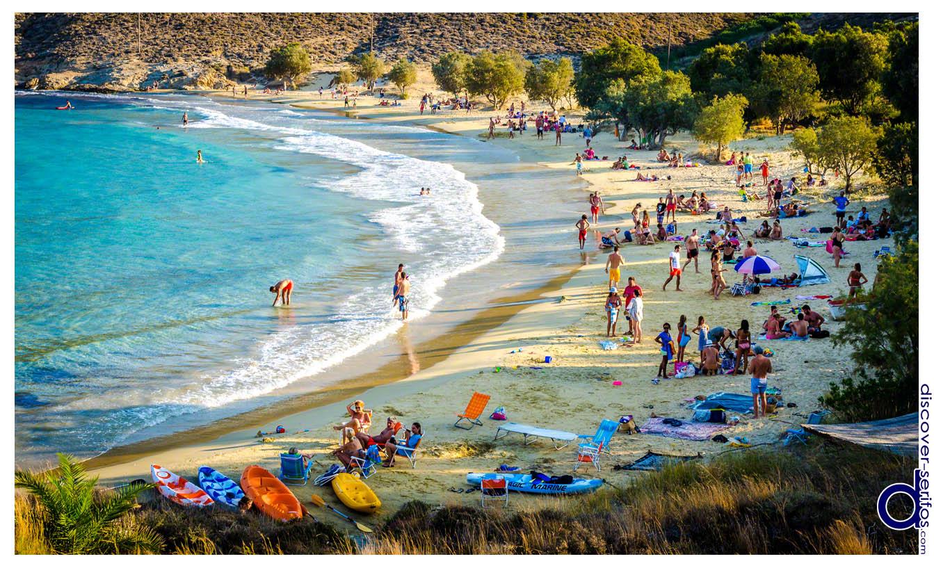 Σέριφος - Ψιλή Άμμος