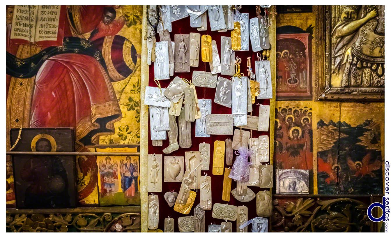 Τάματα στο Μοναστήρι των Ταξιαρχών
