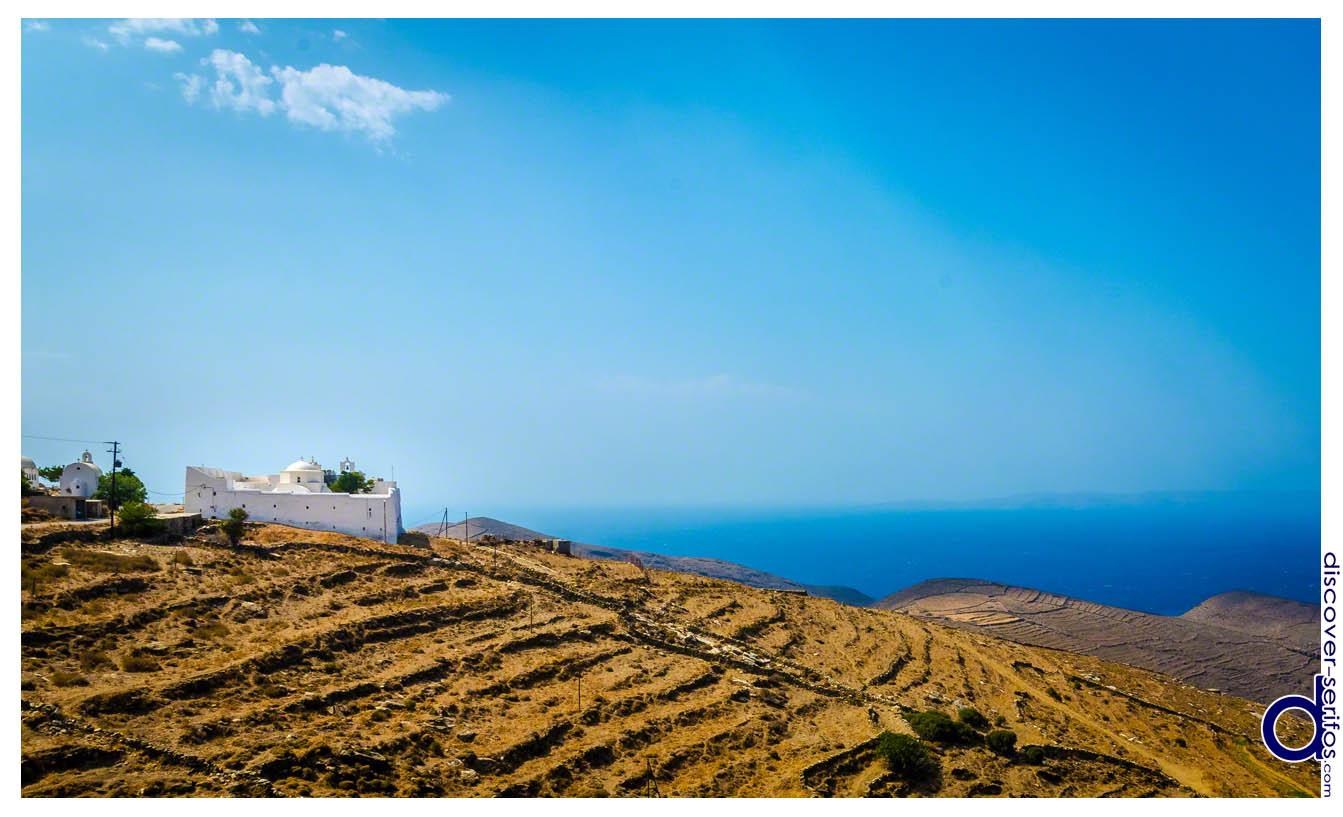 Βόρεια Σέριφος - Μονή Ταξιαρχών