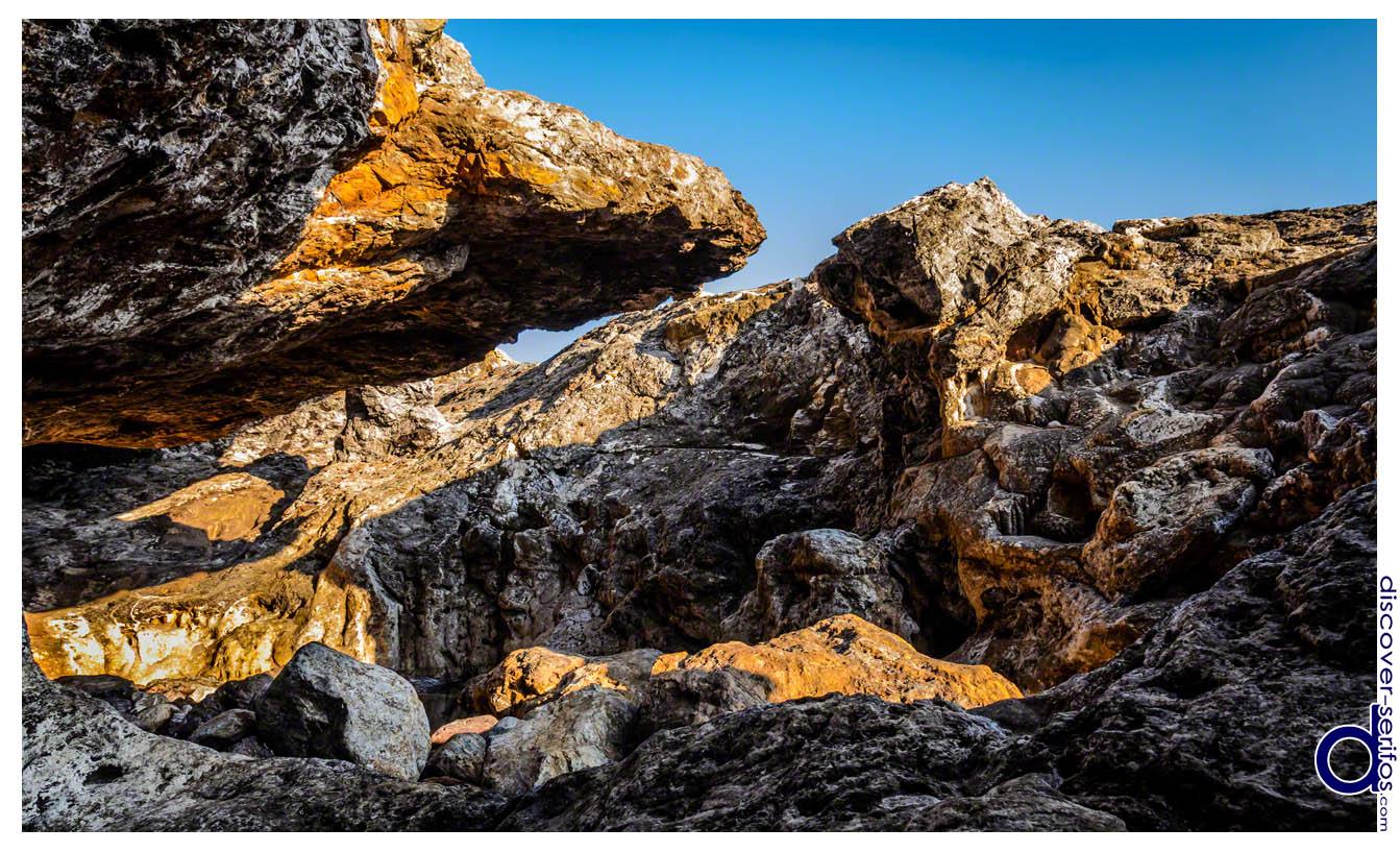 Βραχώδες τοπίο Σερίφου