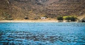 Παραλία Ελληνικά στη Σέριφο