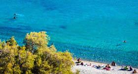 Γάνεμα - Οικισμός και Παραλία